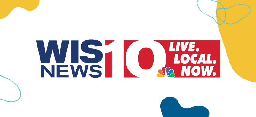 WIS news logo on white background with decorative border