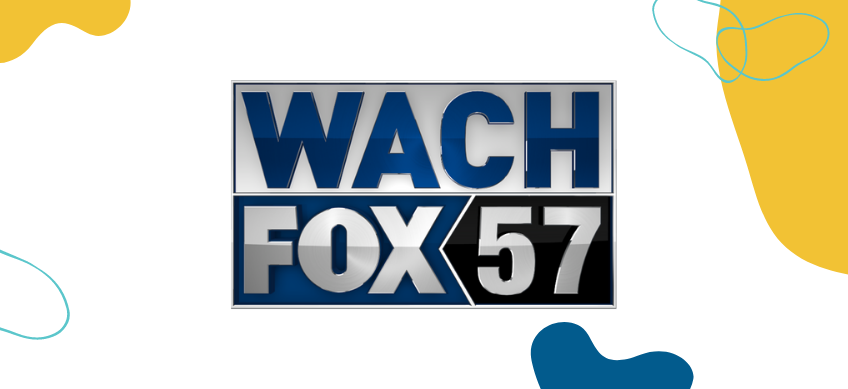wach fox logo on white background with decorative border