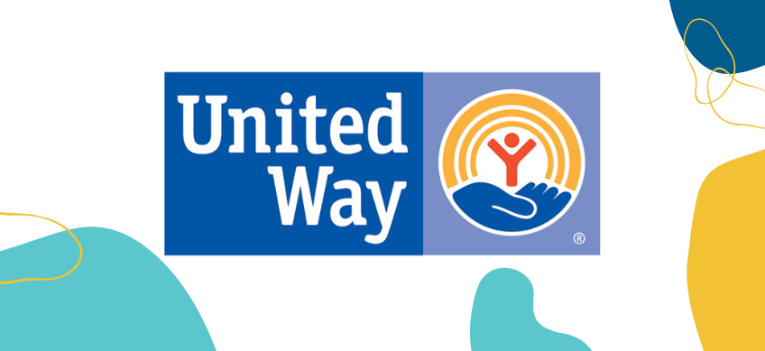 united way logo on white background with decorative border