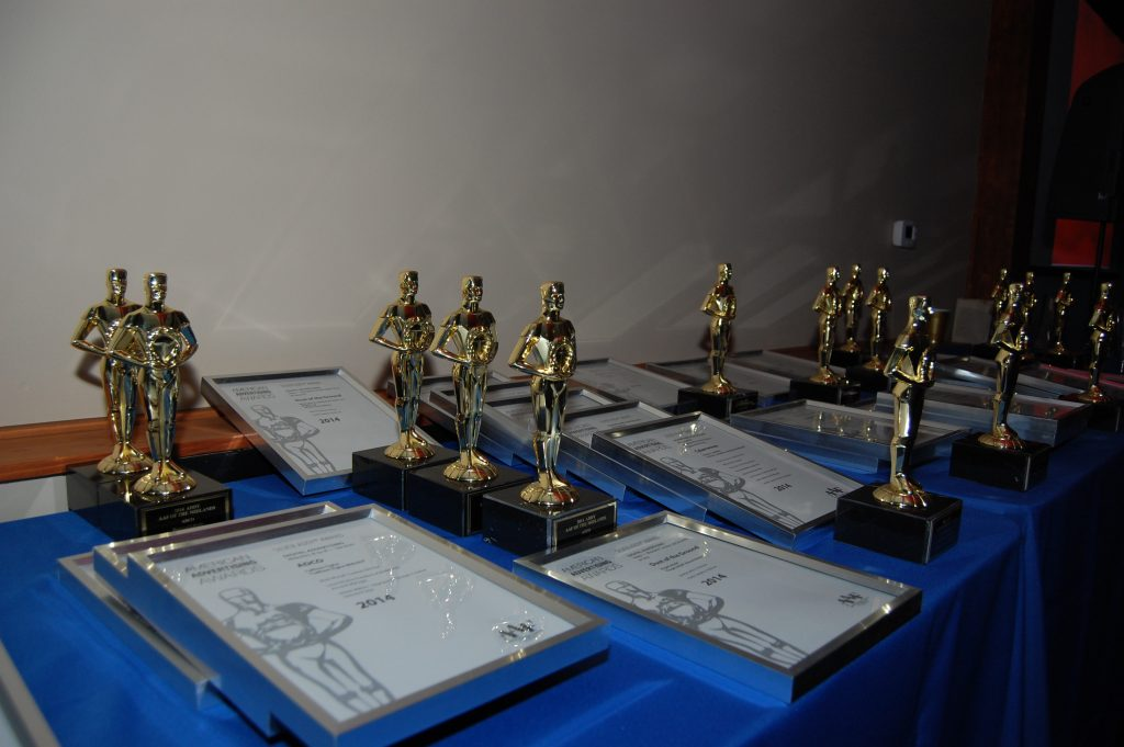 Line up of awards